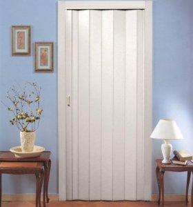 """Дверь складная """"гармошка"""""""