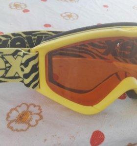 Горнолыжные очки uvex speedy pro