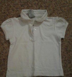 Рубашка на девочку в годик и более