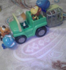 """Набор игрушек """"зоопарк"""""""