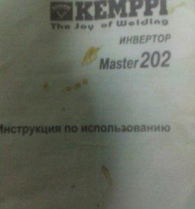 Сварочный инвертор KEMPPI master202