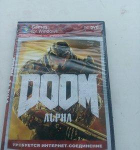 Диск DOOM alpha