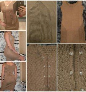 Платье и кофта ручной работы