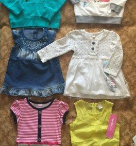 Одежда на девочку 1-3 лет