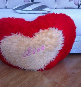 Сердце подушка