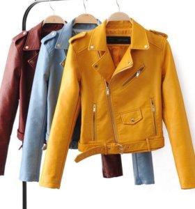 Куртка новая кож зам