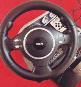 Руль для компьютера Dialog GW-13V