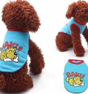 Маечка утеплённая Одежда для собак