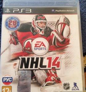 Продаю игру для PS3 NHL14