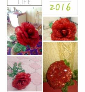 Розы, орхидеи,фиалки любого вида