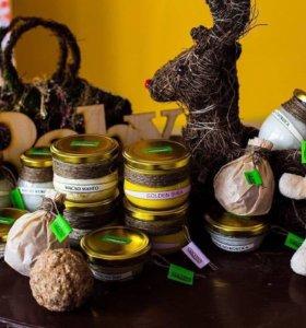 Натуральные масла и скрабы