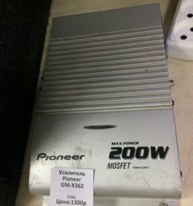 Усилитель Pioneer GM-X362