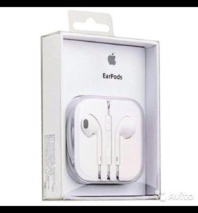 EarPods наушники(Apple)