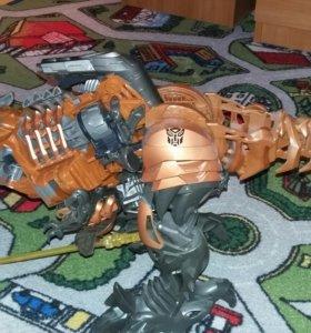 Робот динозавр. Hаsbro Grimlock Robot
