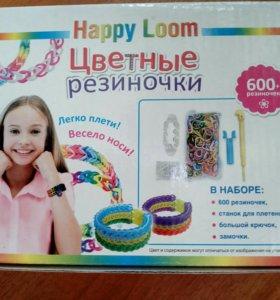 Новый набор резиночек для плетения 600 шт