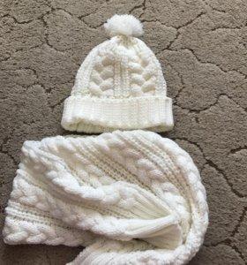 Продам  комплект (шапка шарф)