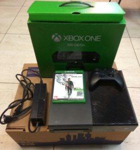 Xbox One 500gb+2игры