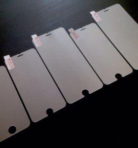 Стекло (защитное) iPhone SE/5s, 6s/6s+, 6/6+, 7/7+