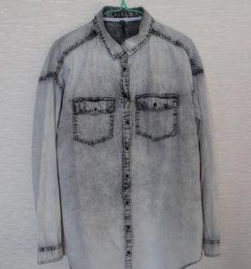 Рубашка Cropp свободного кроя