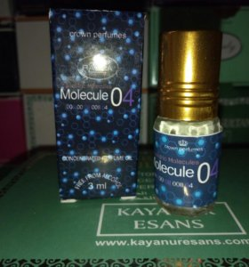Масляные духи Молекула 03 04