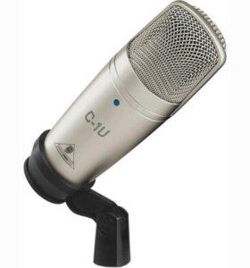 Студийный Конденсаторный Микрофон behringer C1-U