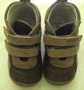 Ботинки на мальчика (21разм)
