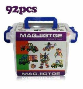 Магнитный конструктор 92 детали