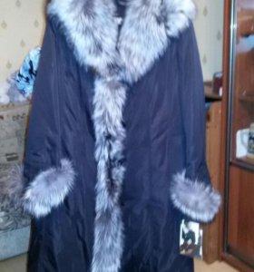 Пальто зима.
