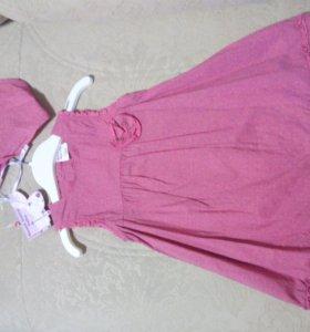 Детское платье с косынкой Свит Берри