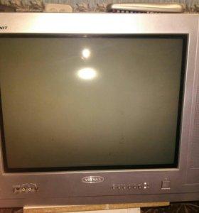 Телевизор Витязь, пульт