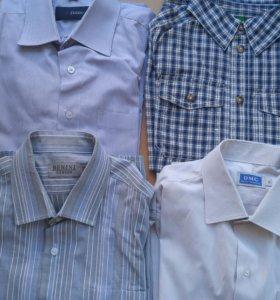 Рубашки для мальчика 34 р-р