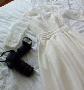 Свадебное платье от модного дома Tatiana Kaplun