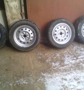 Комплект колес r14 на ВАЗ
