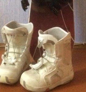 Сноубордические женские ботинки Salamon