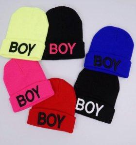 Детские  демисезонные шапочки
