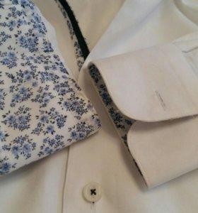 Приталенная мужская рубашка Zara s(44-46)