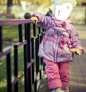 Костюм на девочку осень- весна