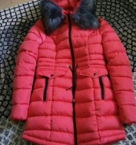 Куртка зимняя(как новая)