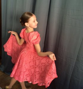 Платье для бально-спортивных танцев