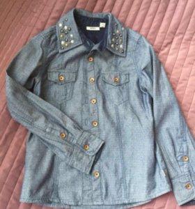 Рубашка джинсовая mexx