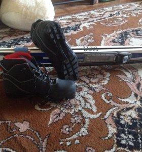 Лыжи,ботинки