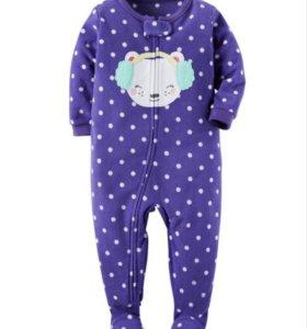 Слипы пижамы с ножками картерс