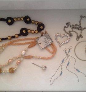 Бусы,браслеты,серёжки,неведимка