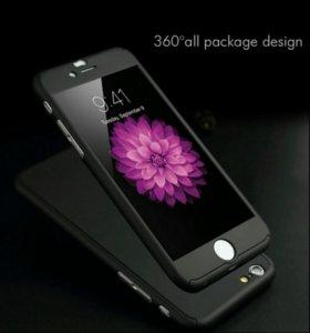 Чехол для IPhone 6 + стекло
