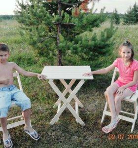 Садовый складной стул,
