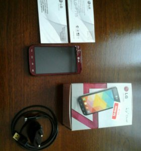 Смартфон Lg Optimus  I7 II Dual P715 RED