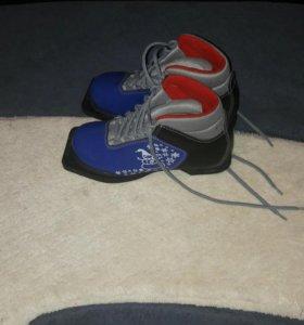 Лыжные батинки детские