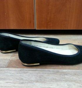 Туфли fanno fatti натуральная замша