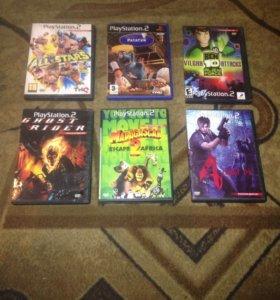 Диски на PS2 в хорошем состояние