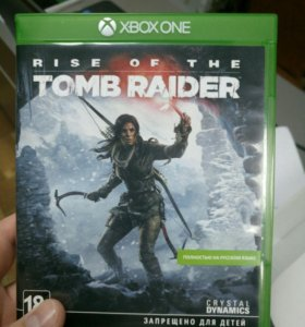 Rise of the Tomb Rider для XBOX ONE